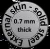 afbeelding staal 0,7 mm dik